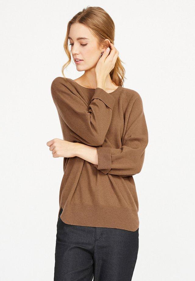 Pullover - camel-mela