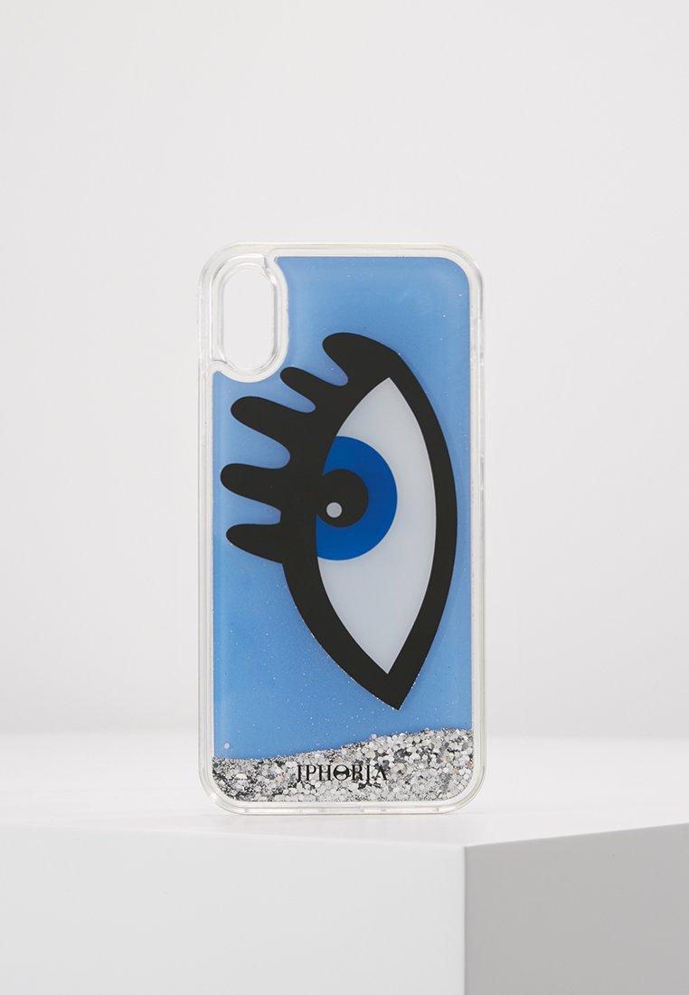 Iphoria - LIQUID CASE FOR X EYE - Mobiltasker - blue
