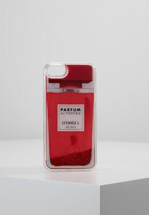 LIQUID CASE PERFUME - Handytasche - red
