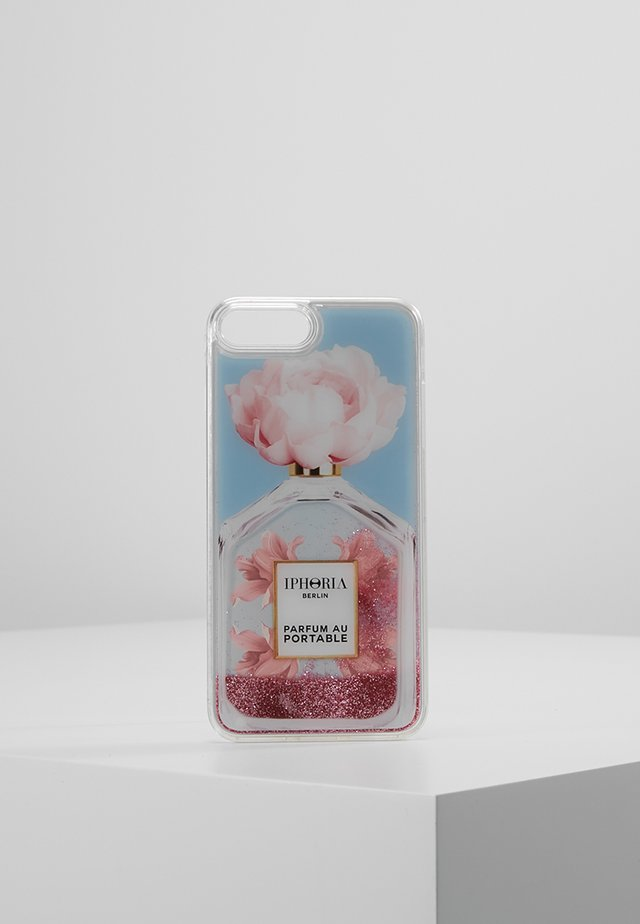 LIQUID CASE PERFUME OBLIQUE FLOWER - Telefoonhoesje - light blue