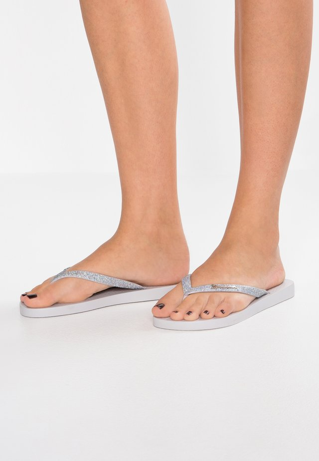 LOLITA - Flip Flops - grey/grey light