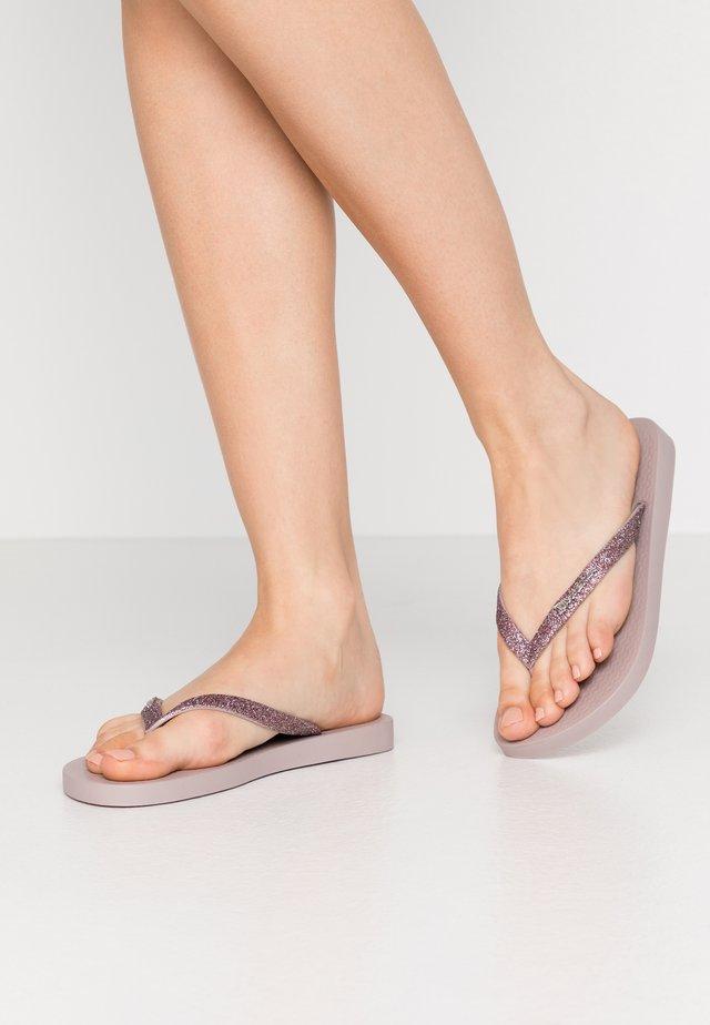 LOLITA - T-bar sandals - beige/rose
