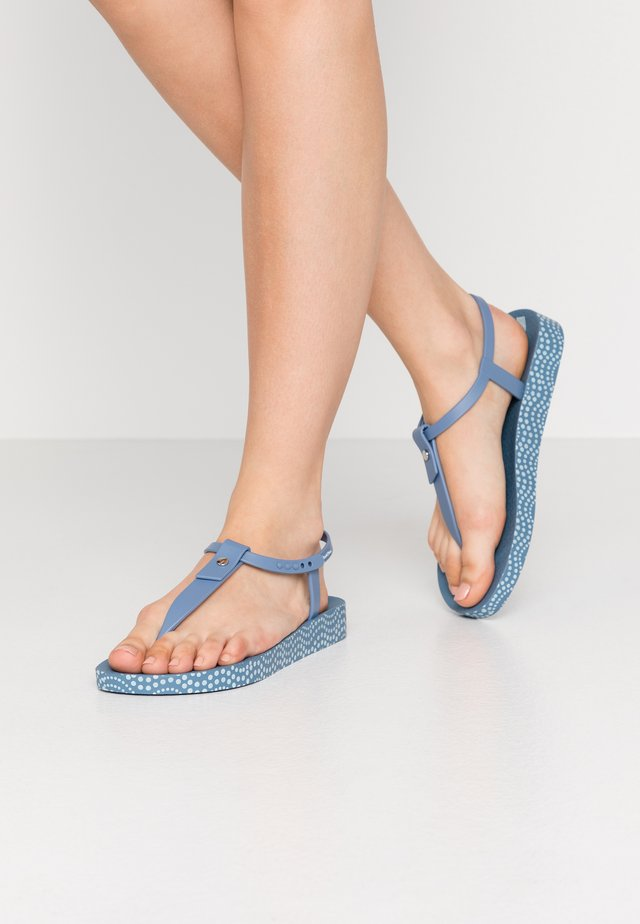 BOSSA SOFT - Teenslippers - blue