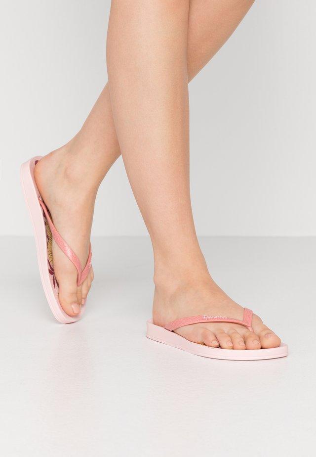 ANAT TEMAS - Japonki kąpielowe - pink/beige