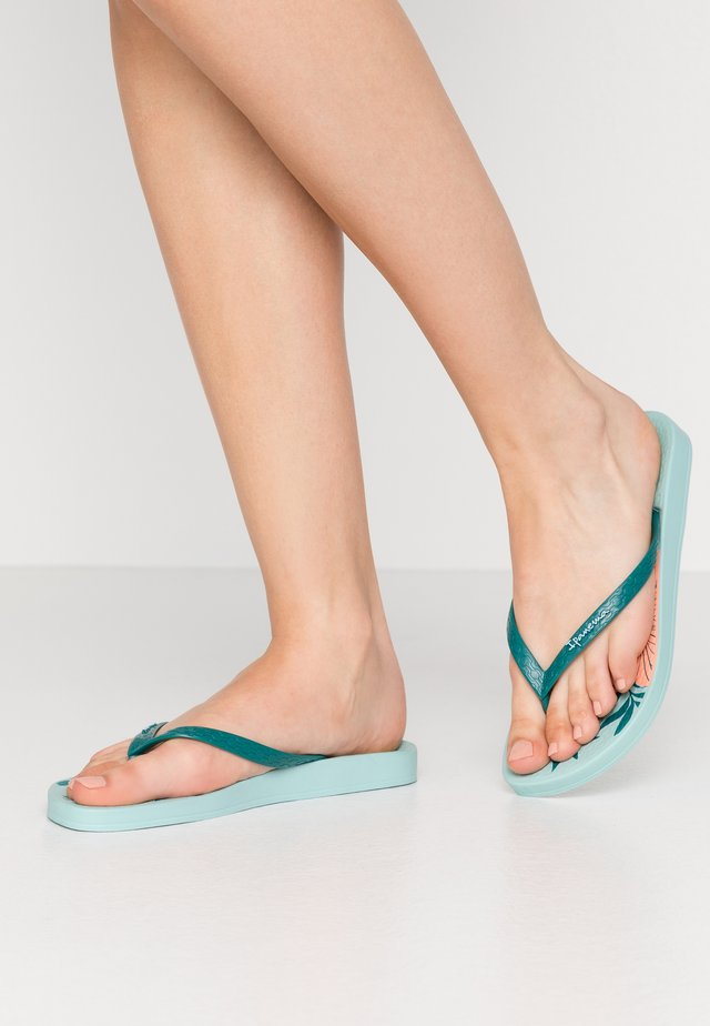 ANAT TEMAS - Teenslippers - green/pink