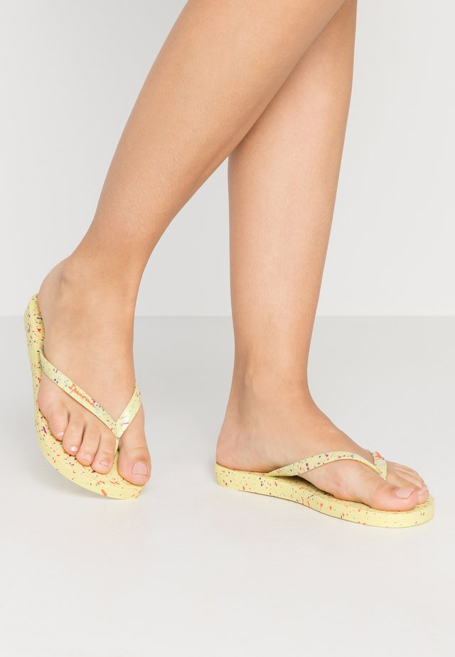 SPLASH - Teenslippers - yellow/orange