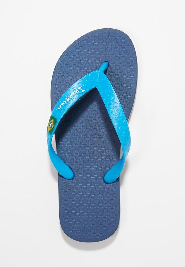 IPANEMA CLAS BRASIL II KIDS - Pool shoes - blue
