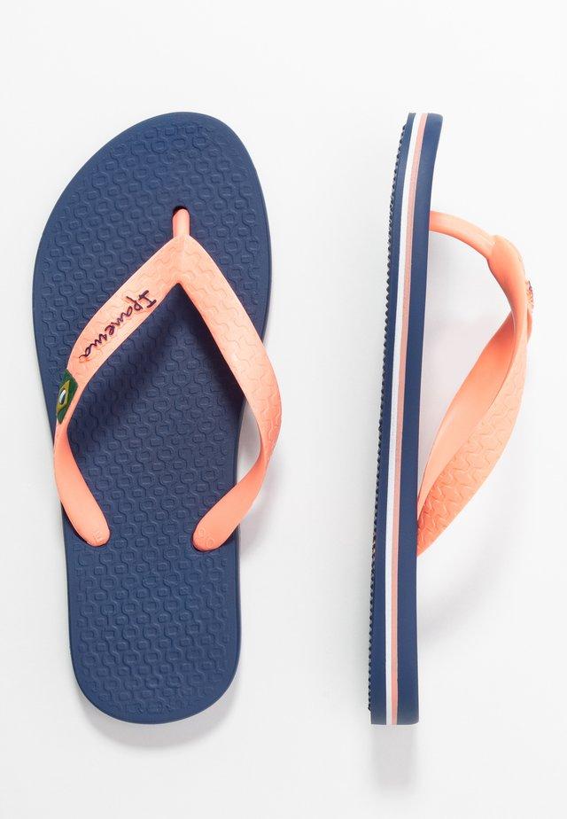 IPANEMA CLAS BRASIL II KIDS - Pool shoes - blue/pink starck