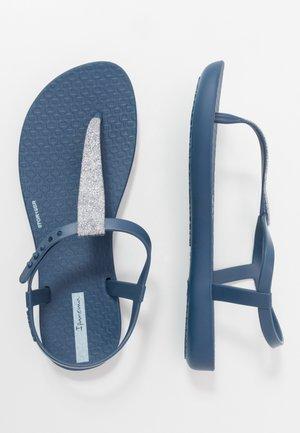 CHARM SAND II KIDS - Japonki kąpielowe - blue/silver