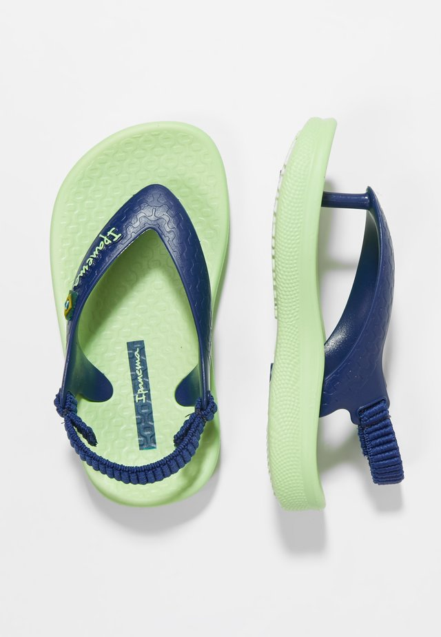 ANAT SOFT BABY - Pool shoes - green/blue