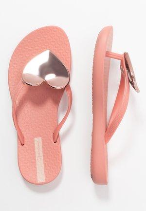 MAXI FASHION KIDS - Zehentrenner - pink/rose
