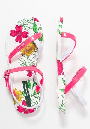 FASHION KIDS - Chanclas de dedo - white/pink