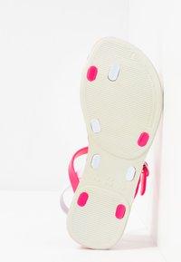 Ipanema - FASHION KIDS - Japonki kąpielowe - white/pink - 5
