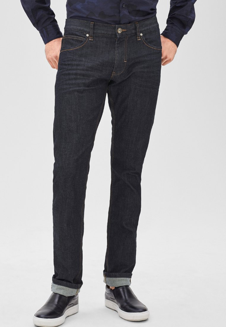 s.Oliver BLACK LABEL - Straight leg jeans - india ink