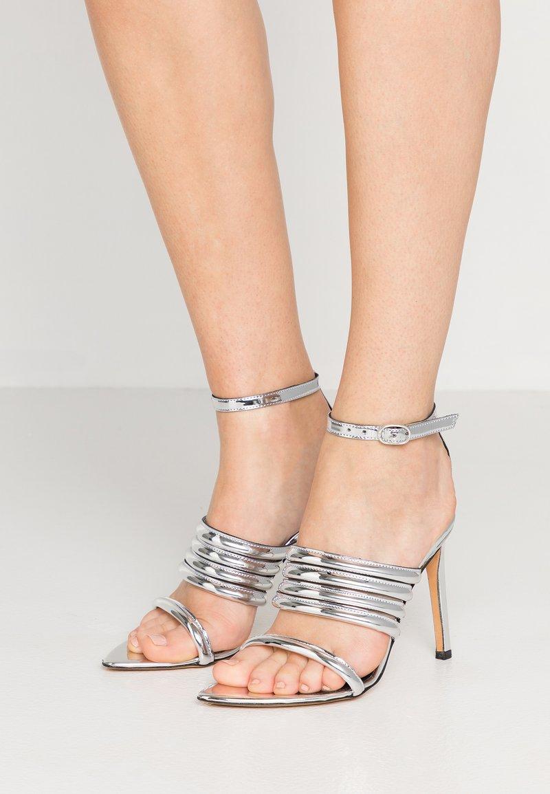 Iro - LIV - High Heel Sandalette - silver
