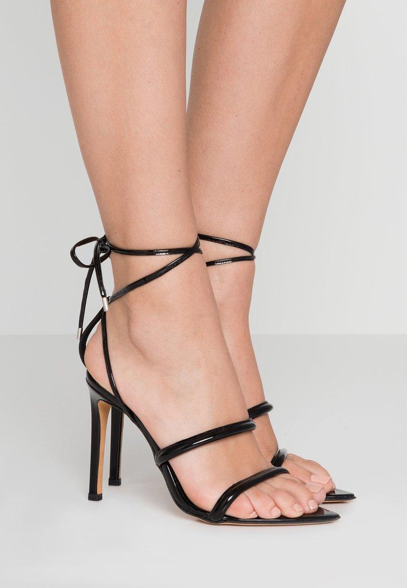 Iro - LIVINA - High Heel Sandalette - black