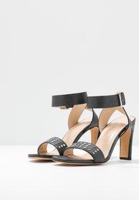 Iro - MAYANI - Sandály na vysokém podpatku - used black - 4