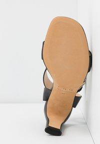 Iro - MAYANI - Sandály na vysokém podpatku - used black - 6