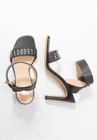 Iro - MAYANI - Sandály na vysokém podpatku - used black - 3