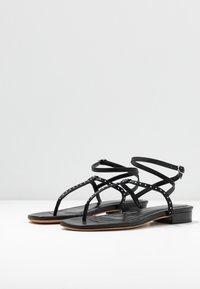 Iro - LILAS - Sandaler m/ tåsplit - black - 4