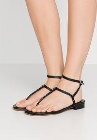 Iro - LILAS - Sandaler m/ tåsplit - black - 0