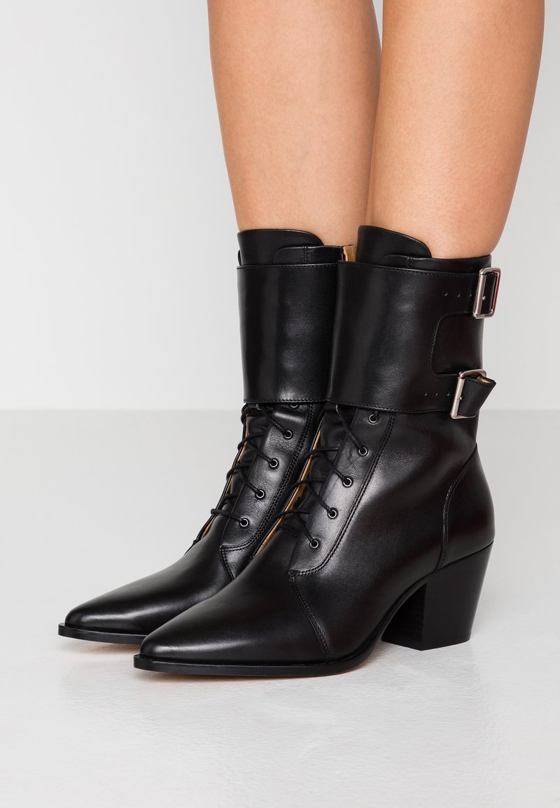 Iro - CALIOPE - Lace-up ankle boots - black