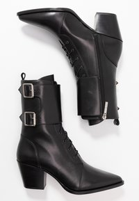 Iro - CALIOPE - Lace-up ankle boots - black - 3