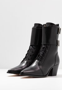 Iro - CALIOPE - Lace-up ankle boots - black - 4