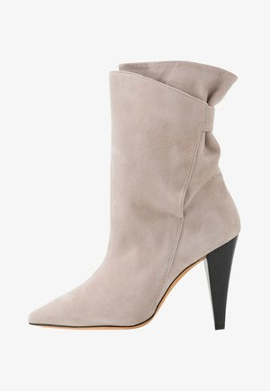 MARSA - High heeled ankle boots - blush pink
