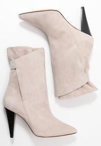 Iro - MARSA - Højhælede støvletter - blush pink - 3