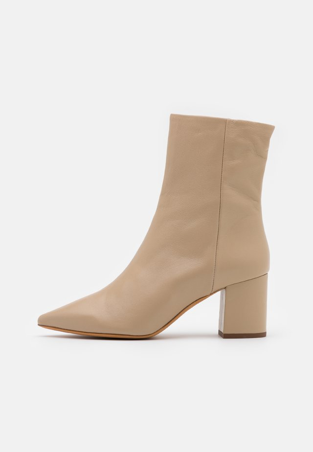 ASTRYD - Classic ankle boots - beige