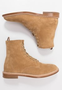 Iro - MOROY - Lace-up ankle boots - beige - 1