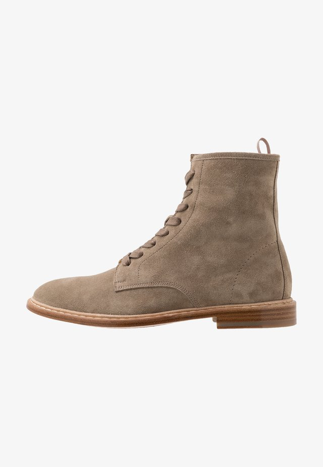 MOROY - Lace-up ankle boots - khaki