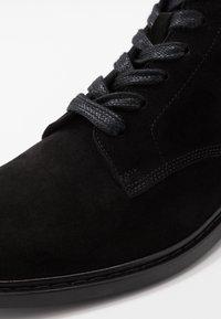 Iro - MOROY - Snørestøvletter - black - 5