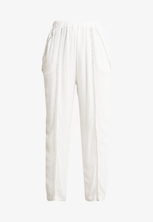 EGINI - Pantalon classique - white