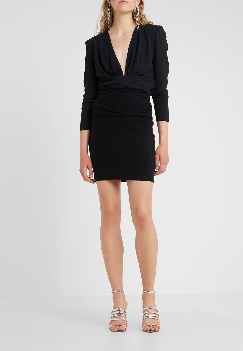 Iro - DUNBAR - Pencil skirt - black