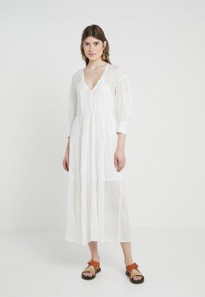 ARTISTIC - Maxi dress - white
