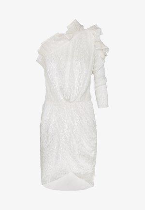 HUSPEL - Koktejlové šaty/ šaty na párty - white