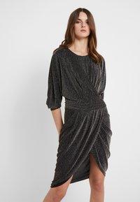 Iro - MAGNUS - Vestito elegante - black/silver - 0