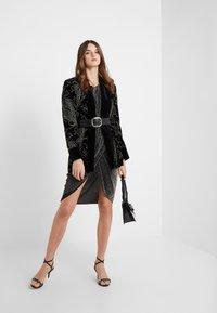 Iro - MAGNUS - Vestito elegante - black/silver - 1