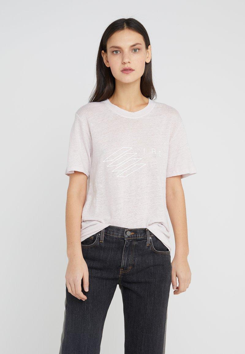 Iro - LUCIE - Print T-shirt - blush pink