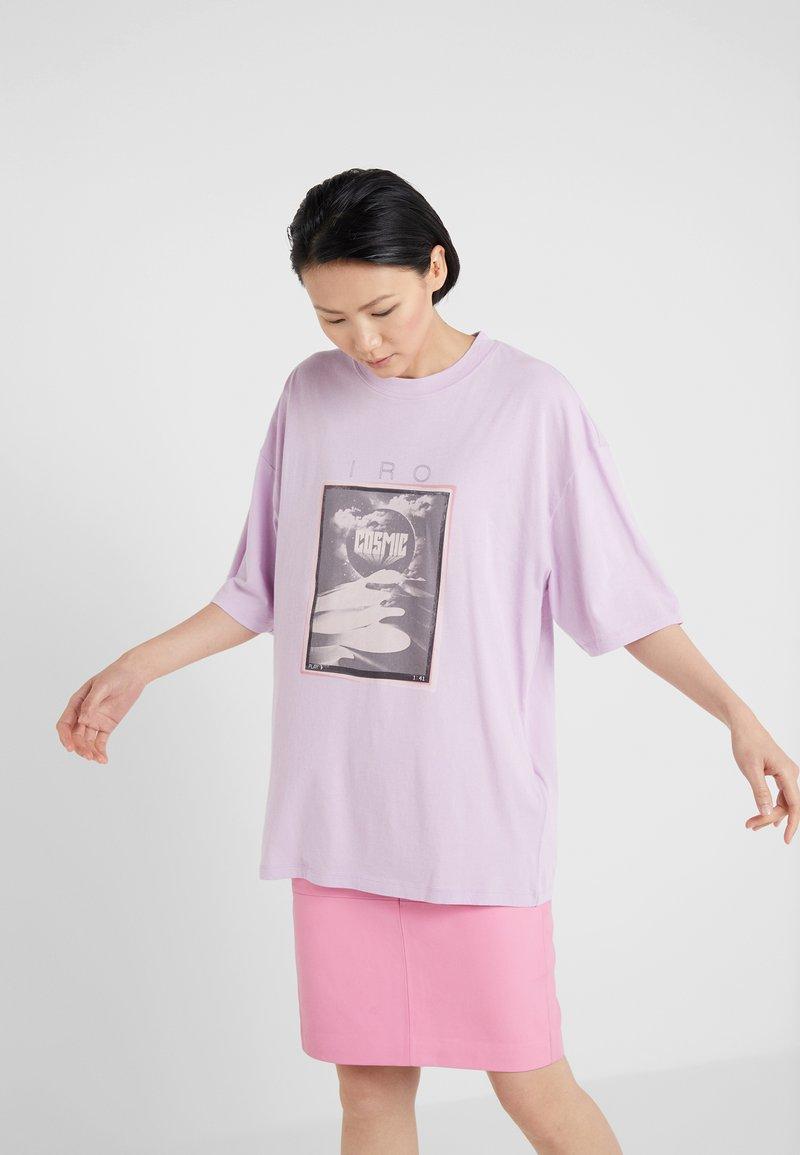 Iro - SLATER - Printtipaita - lavender