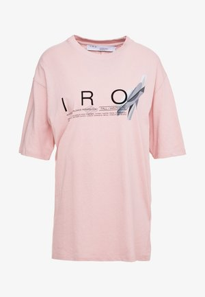 OLCOTT - T-shirt con stampa - old pink