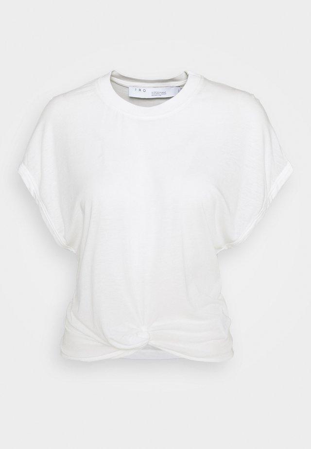 PEARLY - T-Shirt print - cream