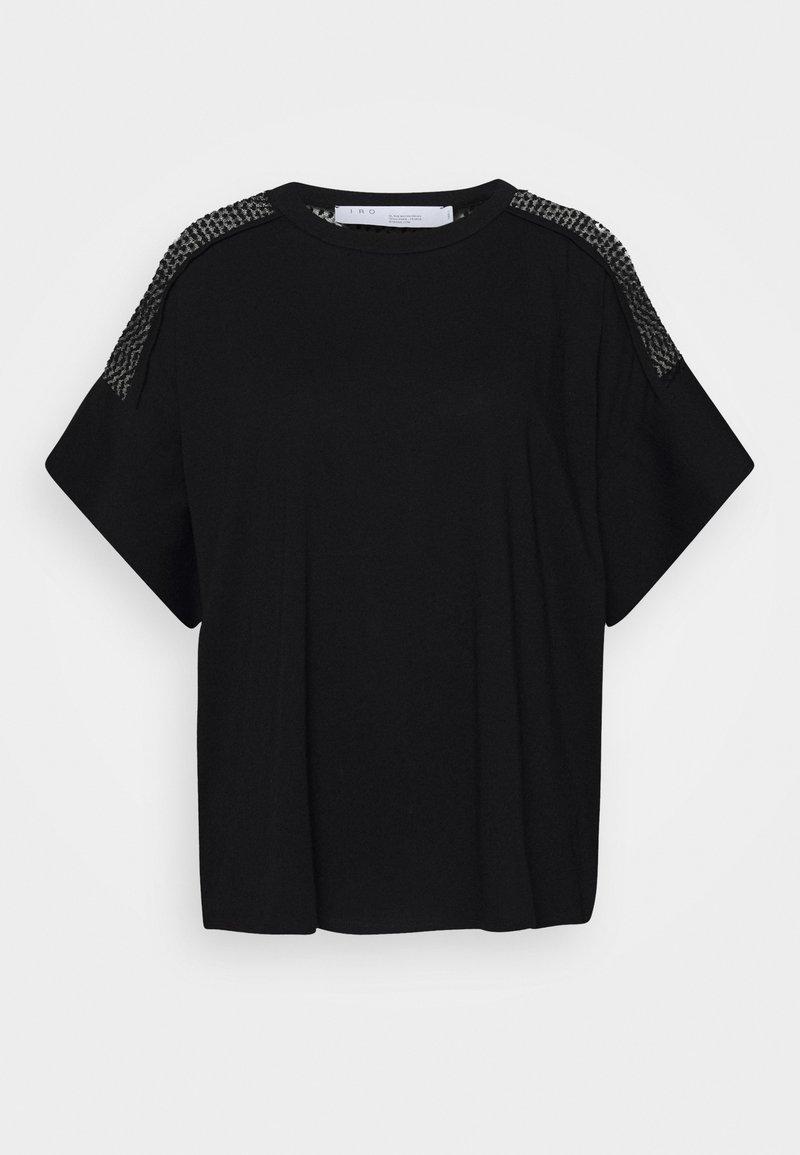 Iro - JADYS - Print T-shirt - black