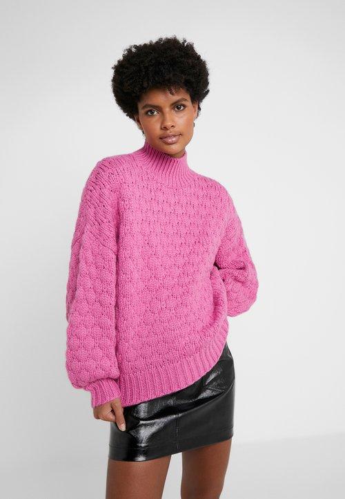 Iro ALYA - Sweter - magniolia Odzież Damska GQFE-NO9 piękny