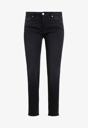 JARODCLA - Jeansy Skinny Fit - used black