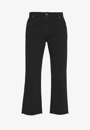 ELYSE - Jeans bootcut - black stone