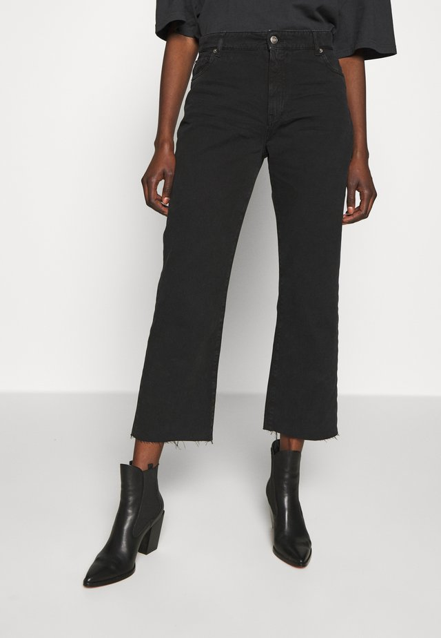 ELYSE - Jeansy Bootcut - black stone
