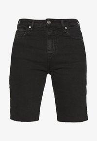 Iro - BIRHAK - Denim shorts - used black - 4